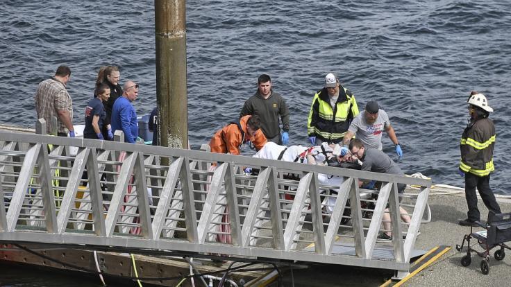 Mindestens fünf Menschen sind bei der Kollision von zwei Wasserflugzeugen in der Luft vor der Küste Alaskas ums Leben gekommen. (Foto)
