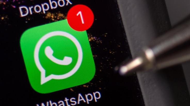 WhatsApp gehört zum US-Konzern Facebook. (Foto)