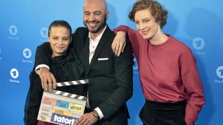 """Das neue """"Tatort""""-Team aus Bremen: Jasna Fritzi Bauer, Dar Salim undLuise Wolfram. (Foto)"""