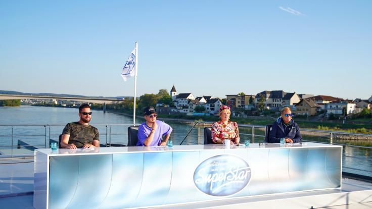 RTL hat den Wendler mittlerweile bei DSDS verpixelt. (Foto)