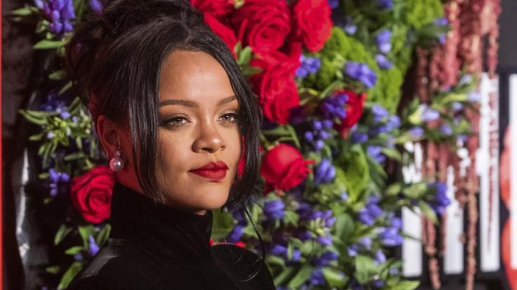 Rihanna sorgt im Netz für heiße Einblicke. (Foto)