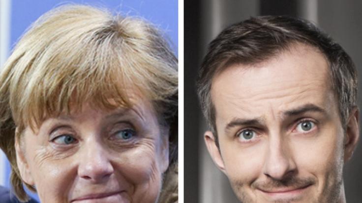 Angela Merkel äußert sich zum Fall Böhmermann.