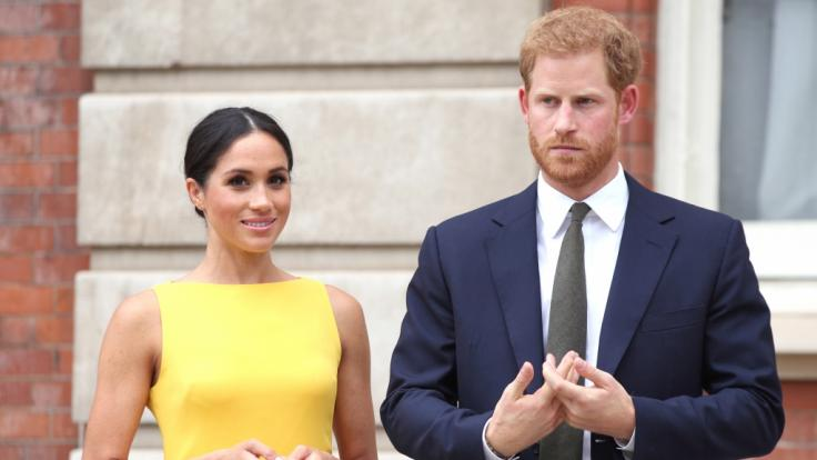 Prinz Harry und Meghan Markle könnte eine Trennung bevorstehen, die die Royals-Fans schmerzt. (Foto)