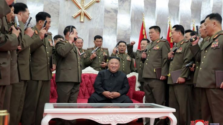 Nordkoreas Machthaber Kim Jong Un will das militärische Potenzial des Landes ausbauen.