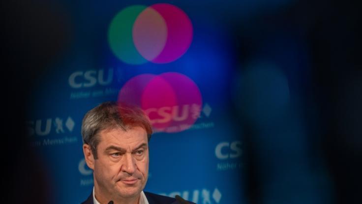 Die Ausgangssperre 2020 in Bayern war offenbar rechtswidrig. Muss Markus Söder nun seinen Posten räumen? (Foto)