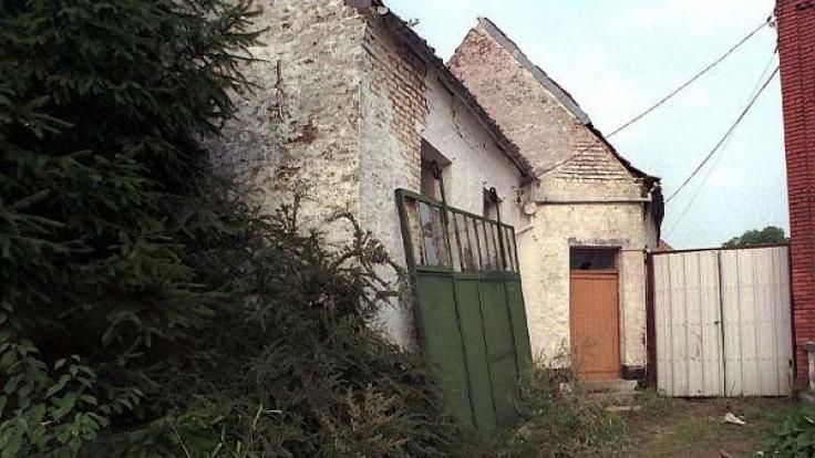 Das Haus von Dutroux. (Foto)