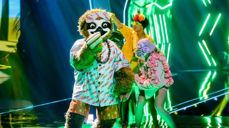 """Fauli Faultier gewann das Finale von """"The Masked Singer"""" 2020. (Foto)"""