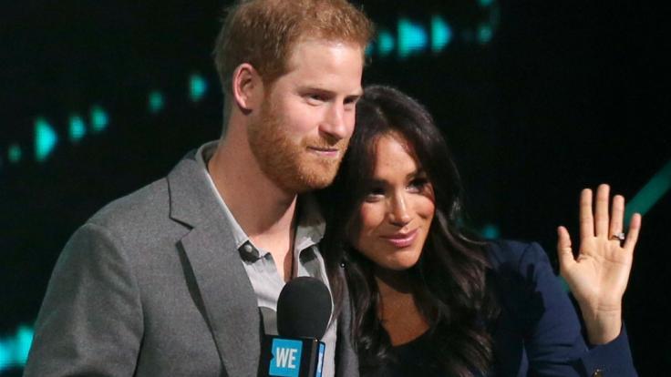 Prinz Harry und Meghan Markle werden in wenigen Tagen oder Wochen Eltern.