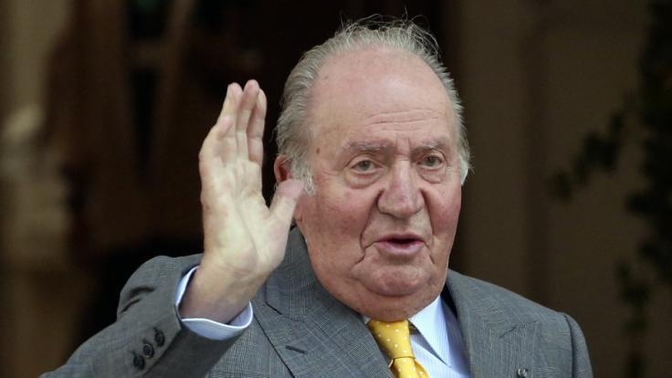 Der ehemalige spanische König Juan Carlos hat in einer Nacht- und Nebelaktion das Land verlassen. (Foto)