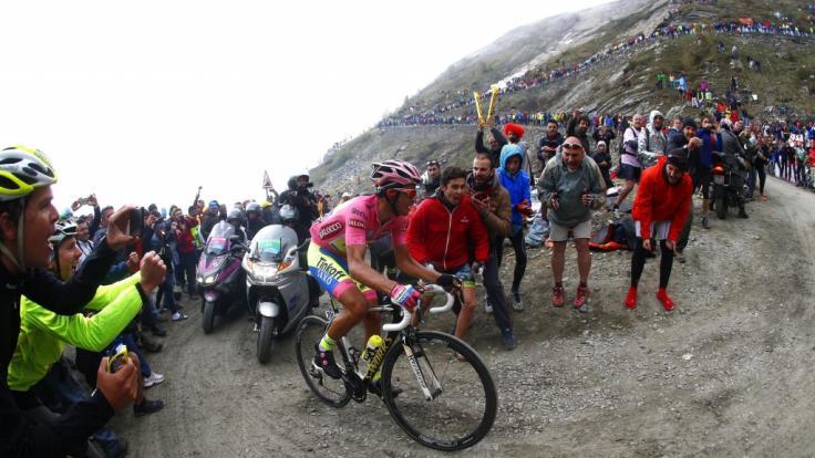 Vom 8. bis 30. Mai messen sich die Radprofis bei der Giro d'Italia. (Foto)