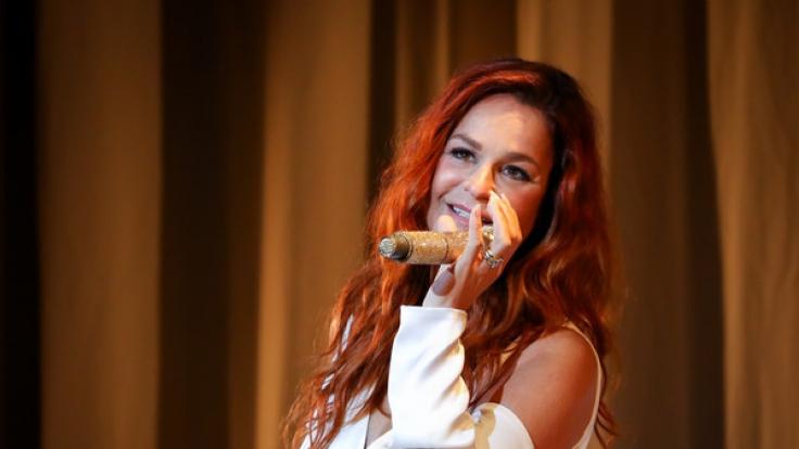 Andrea Berg überrascht ihre Fans mit einem Konzert. (Foto)