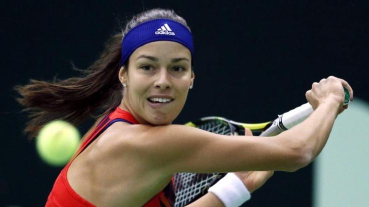 Ana Ivanovic hat sich von ihrem Trainer getrennt. (Foto)