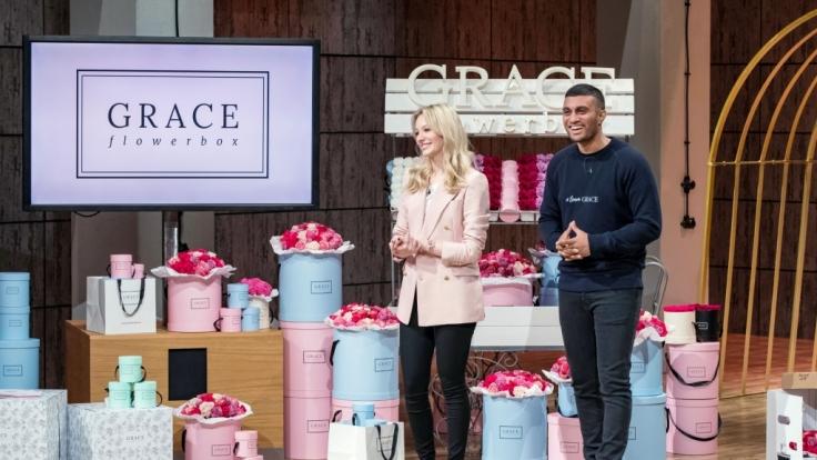 """Mit ihrem Blumenversand in Hutschachteln wollen """"Grace Flowerbox""""-Gründer Nina Wegert und Kirishan Selvarajah aus Berlin die Investoren bei """"Die Höhle der Löwen"""" überzeugen. (Foto)"""