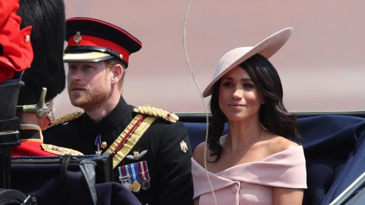 Mit diesen Royal-News sorgen Prinz Harry und Meghan Markle für Enttäuschung bei der Queen. (Foto)
