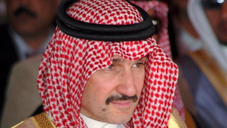 Der Prinz aus Saudi-Arabien will sein gesamtes Vermögen spenden.
