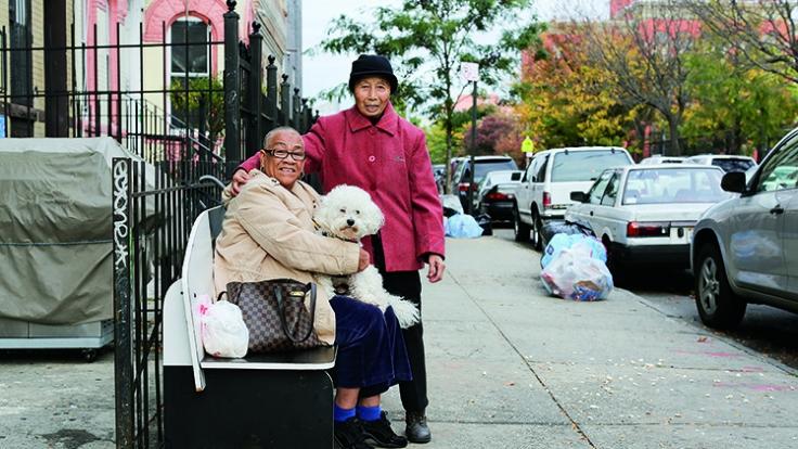 Im rauen New York gibt es auch Geschichten ungewöhnlicher Freundschaften.