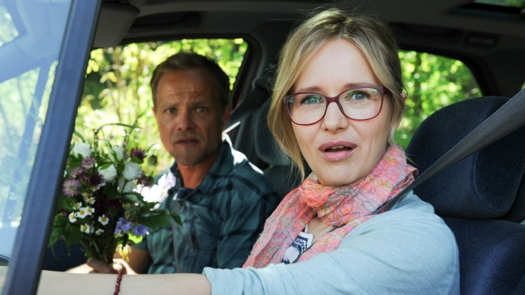 Ein Besuch bei einer alten Freundin bringt das Leben von Markus und Marie Baumgartner (Matthias Koeberlin, Stefanie Stappenbeck) gehörig durcheinander. (Foto)