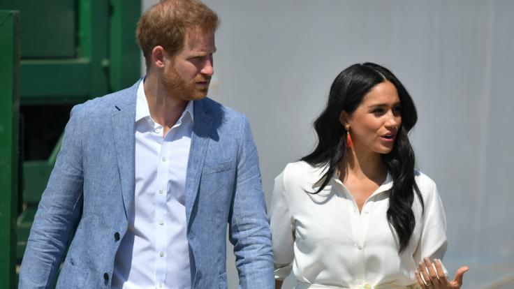 Meghan Markle und Prinz Harry scheinen derzeit keinen guten Stand im britischen Königshaus zu haben. (Foto)