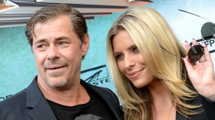 Die Schauspieler Sophia Thomalla und Sven Martinek bei der Wacken-Premiere in Hamburg.