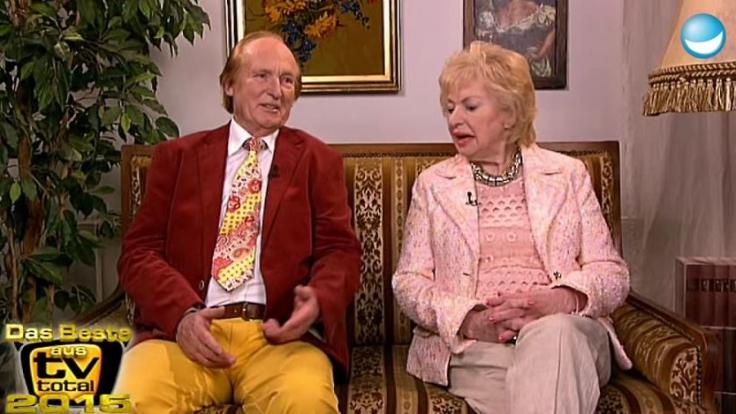 """Ingrid und Klaus waren fester Bestandteil von """"TV Total"""". (Foto)"""