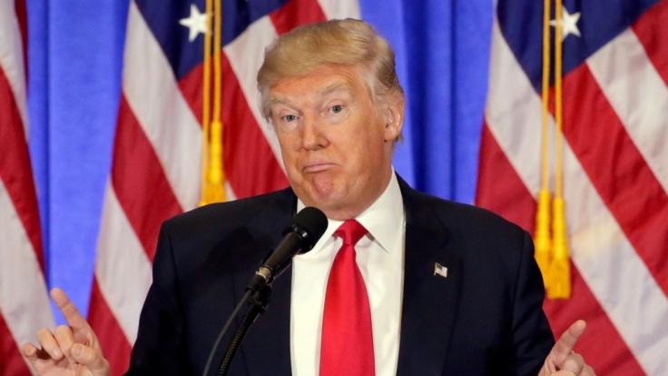 Was Donald Trump wohl von der Namenswahl hält? (Foto)