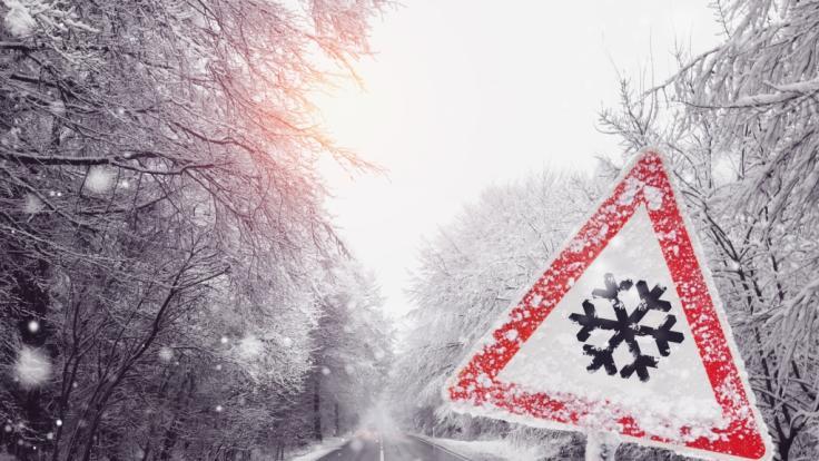 Zum Wochenstart schneit und regnet es in einigen Regionen. (Symbolfoto) (Foto)