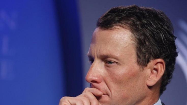 Lance Armstrong fürchtet nicht nur um sein Vermögen, sondern seine Existenz. (Foto)