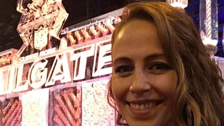 Lisa Heckl ist die Freundin von Sportkommentator Frank Buschmann.