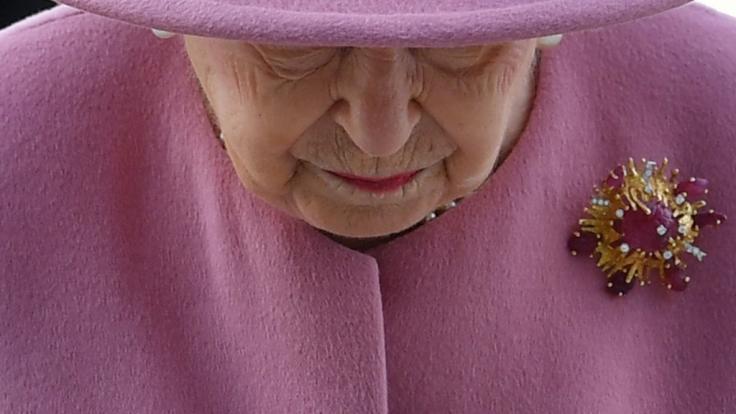 Queen Elizabeth II. hat der Tod ihres Ehemannes Prinz Philip hart getroffen. (Foto)