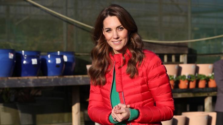 Bei Herzogin Kate gibt es wieder einmal Baby-Wirbel. (Foto)