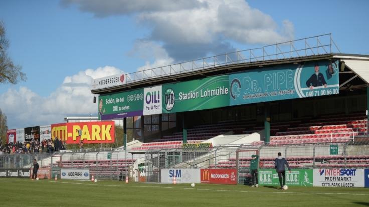 Stadion an der Lohmühle, Lübeck (Schleswig-Holstein). (Foto)