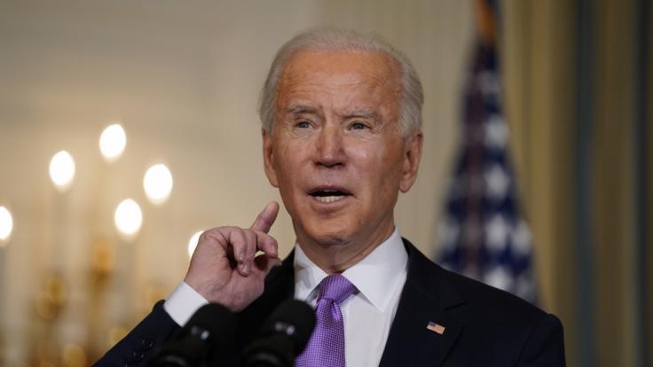 Joe Biden wird im Netz als Lügner abgestempelt. (Foto)