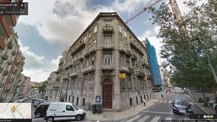 Im obersten Stock des alten Hauses lebte Cristiano Ronaldo zwischen 2000 und 2001.