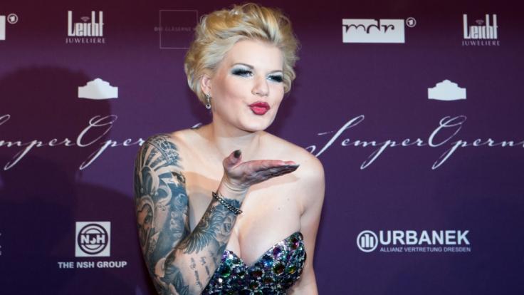 Melanie Müller ist auf Glamour-Events ein gern gesehener Gast.