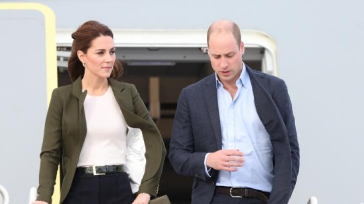 Hängt bei Kate Middleton und Prinz William aufgrund böser Fremdgehgerüchte der Haussegen schief? (Foto)