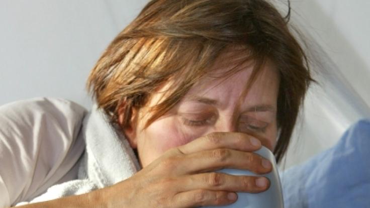 Die Grippe hat Deutschland immer noch fest im Griff. Die gute Nachricht: Der Höhepunkt ist erreicht. (Foto)