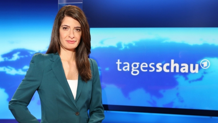 Seit 2013 war Linda Zervakis Sprecherin der ARD-Tagesschau-Hauptausgabe.