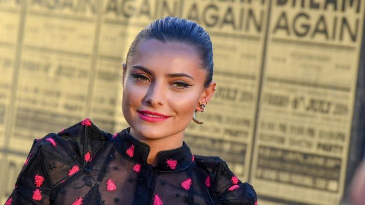 Sophia Thomalla hat im Sat.1-Interview intime Einblicke gewährt. (Foto)