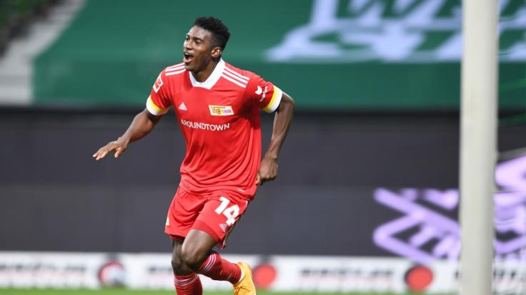 Angreifer Taiwo Awoniyi ist zurück beim 1. FC Union Berlin. (Foto)
