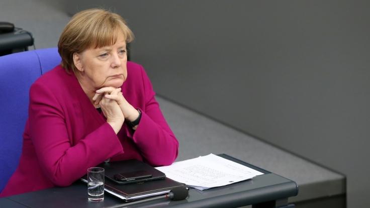 Sie verliert an Zustimmung: Kanzlerin Angela Merkel.