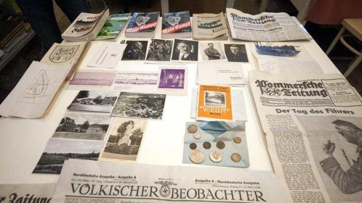 Zeitkapsel offenbart Nazi-Vergangenheit einer polnischen Stadt. (Foto)