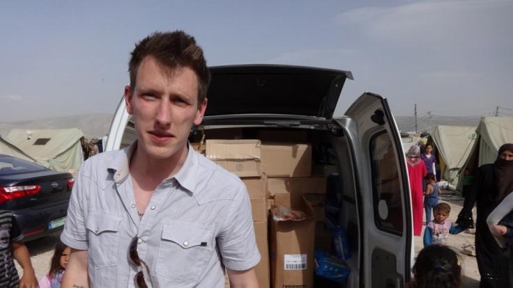 Die Terror-Organisation IS soll ein Propaganda-Video von der Enthauptung der Geisel Peter Kassig veröffentlicht haben.