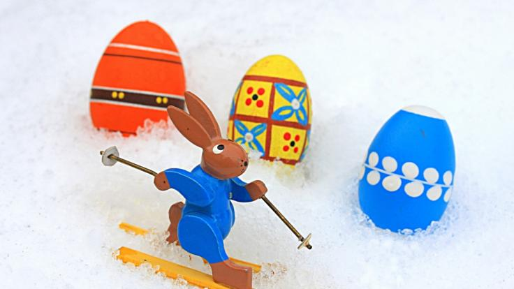 Müssen wir an Ostern mit Schnee rechnen? (Foto)