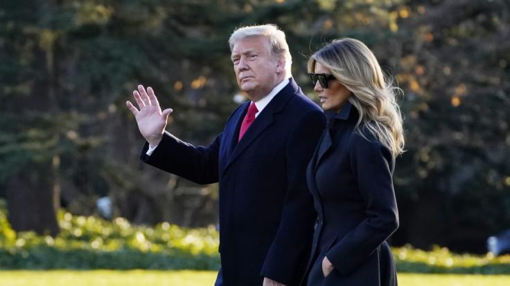 Verreist Donald Trump erneut mit einem Melania-Double? (Foto)