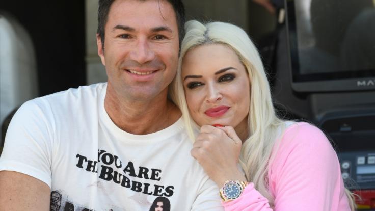 Lucas Cordalis und Daniela Katzenberger. (Foto)