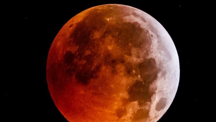 Trotz Blutmond! Im Oktober gibt's keine Mondfinsternis am Himmel zu sehen.