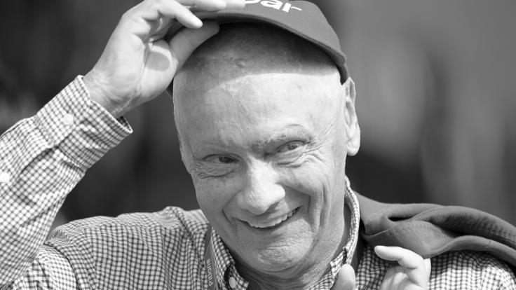 Der Tod von Niki Lauda hat große Trauer ausgelöst. (Foto)