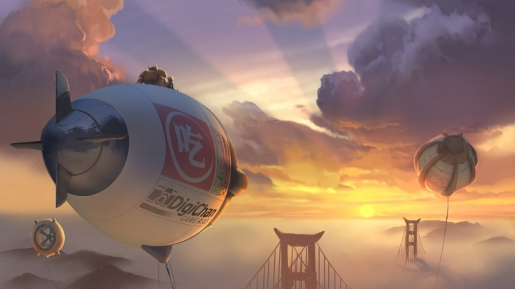 San Fransokyo ist ein Mix aus San Francisco und Tokyo, gemixt mit erneuerbarer Energie und Zukunftsvisionen. (Foto)