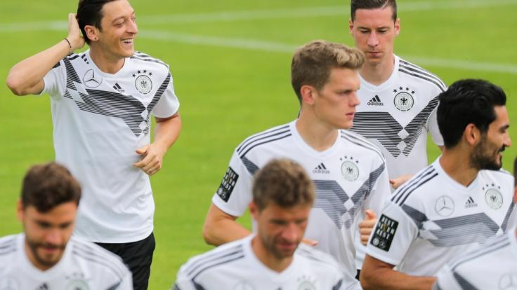 Das DFB-Team bekam am Wochenende Freizeit.