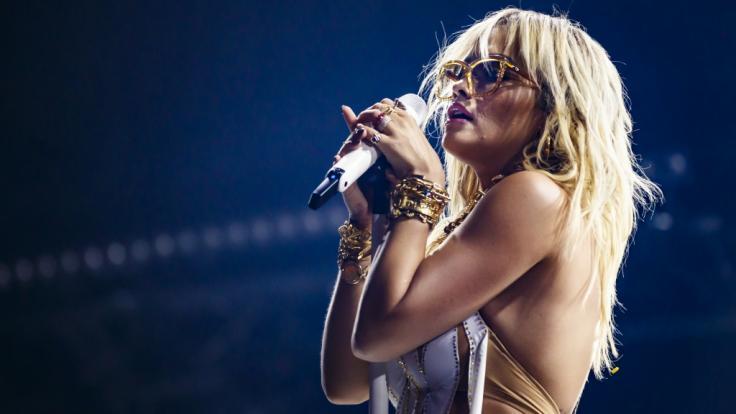 Rita Ora präsentiert ihren knappen Bikini bei Instagram. (Foto)